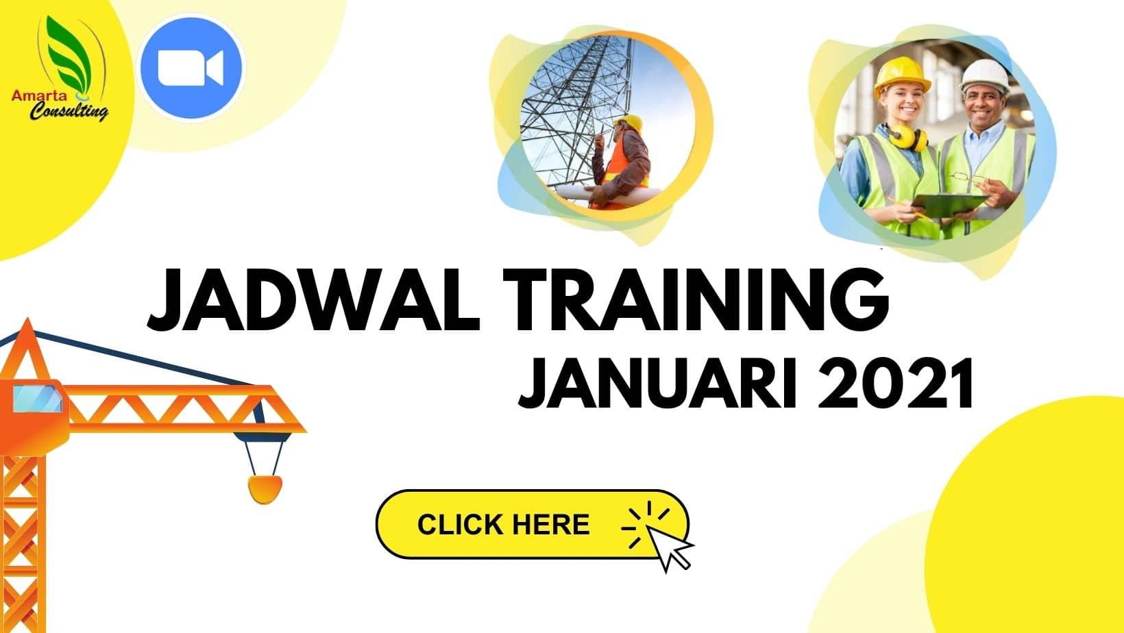 Jadwal Training Januari 2021