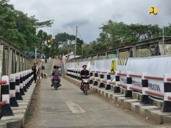 Perlancar Konektivitas Pansela Jabar, Kementerian PUPR Targetkan Jembatan Duplikasi Cisokan di Kabupaten Cianjur Selesai November 2021